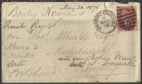 Plate number on cover