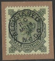 10/- forgery