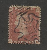 Perf 14 - penny red with MX cancellation